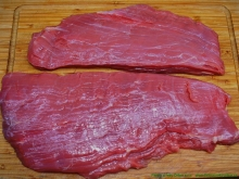 Pupek - steak BIO (Flank steak)